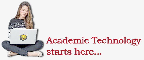 Academic Technology starts here...